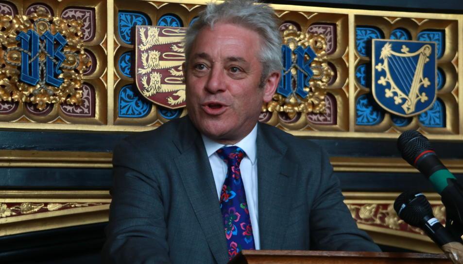 El president del parlament britànic, John Bercow, en una imatge d'arxiu.