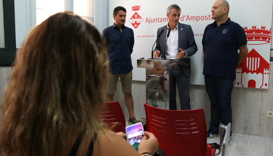 Presentació del 'VAG Experience' a l'Ajuntament d'Amposta.