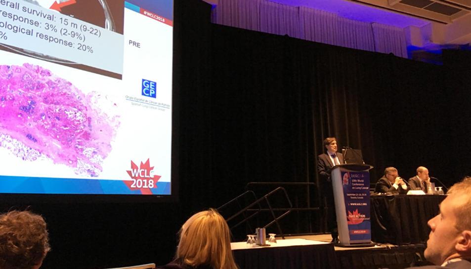 L'estudi s'ha presentat al Congrés Mundial de Càncer de Pulmó, que se celebra a Barcelona.