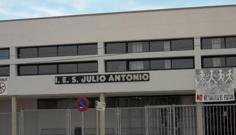 Imatge d'arxiu de l'Institut Julio Antonio de Móra d'Ebre.