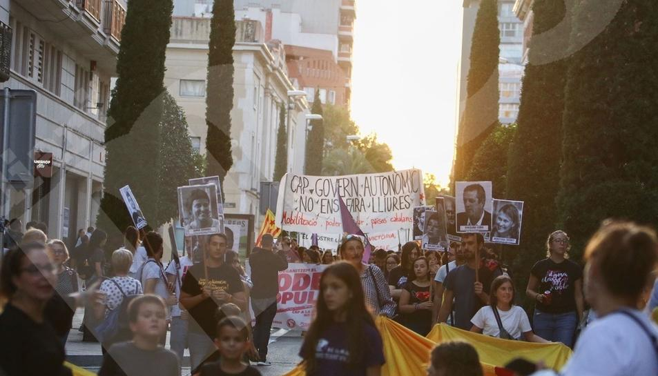 Manifestació Esquerra Independentista a Reus