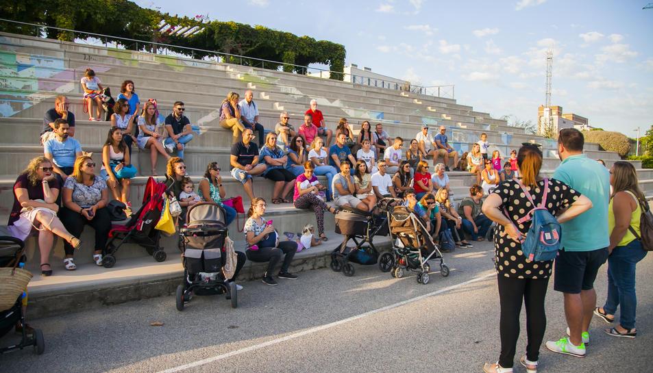 Els veïns es van reunir ahir al Parc del Francolí per organitzar el seu rebuig al CPO.