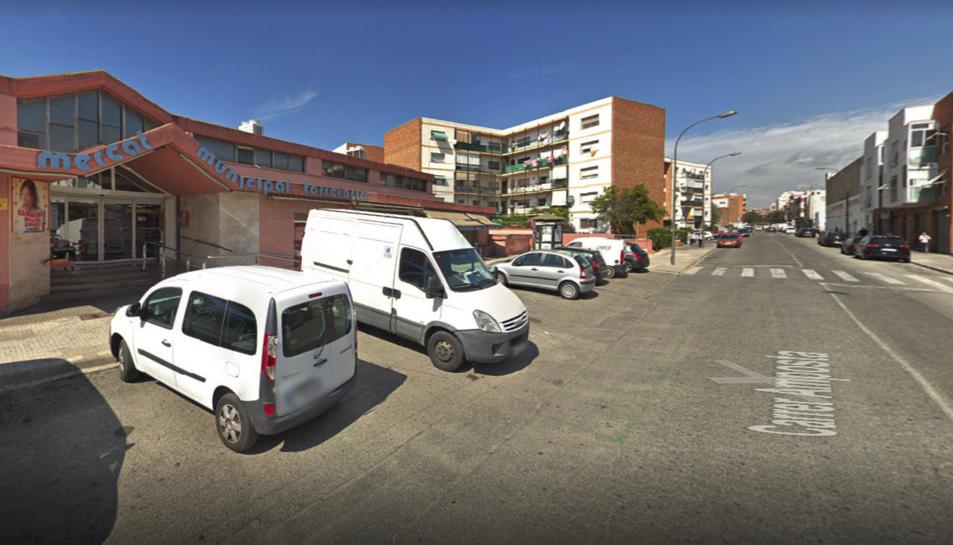 Imatge d'arxiu del mercat municipal de Torreforta.