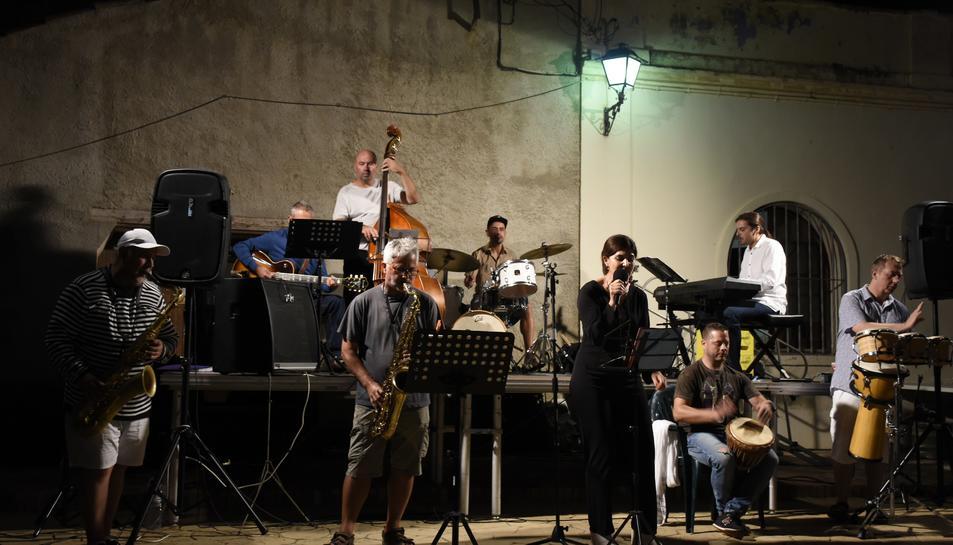 Imatge d'arxiu d'un concert de jazz a Salomó.