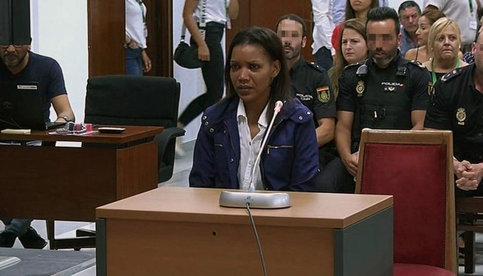 Ana Julia Quezada durant la seva declaració el passat dimarts.