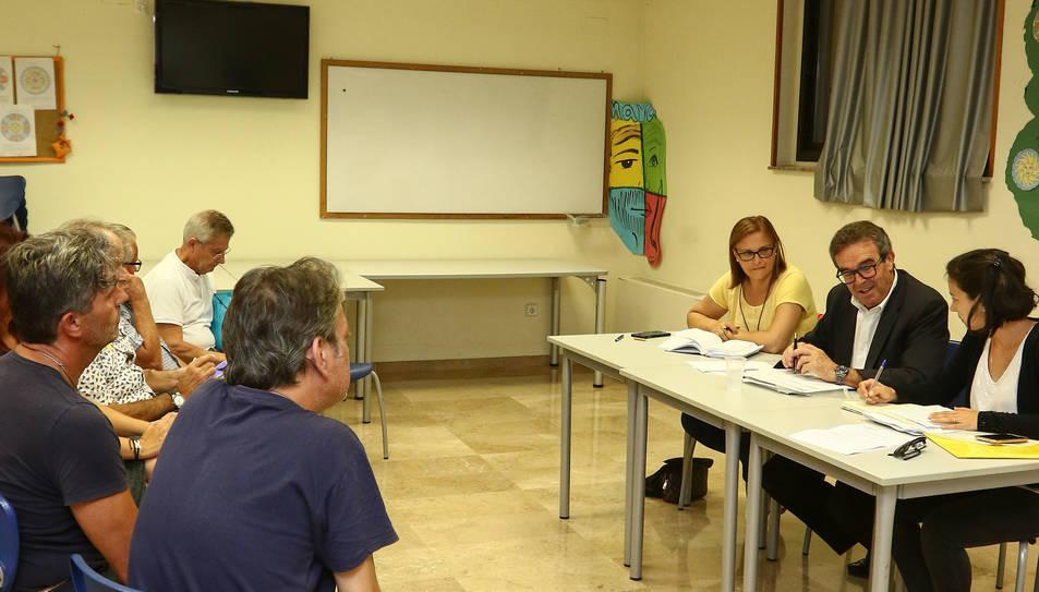 El centre cívic Ponent va acollir ahir una assemblea.
