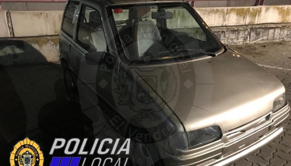 Imatge del vehicle furtat el 17 d'agost i recuperat aquest 13 de setembre.