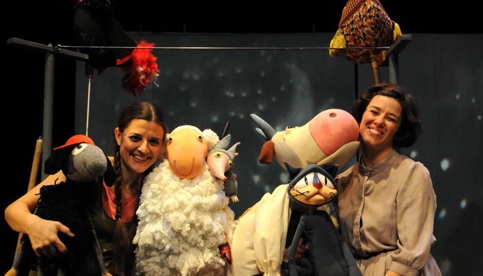La segona proposta és l'espectacle musical i de titelles 'El cel de la Jojó' d'Inspira Teatre.
