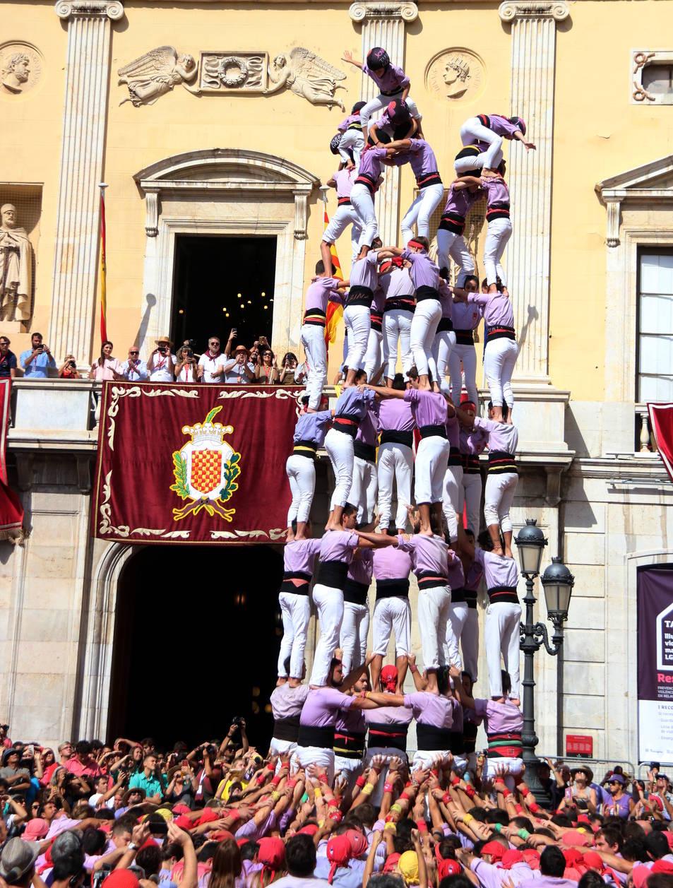 Imatge del 9d8 descarregat per la Colla Jove dels Xiquets de Tarragona, el 15 de setembre del 2019