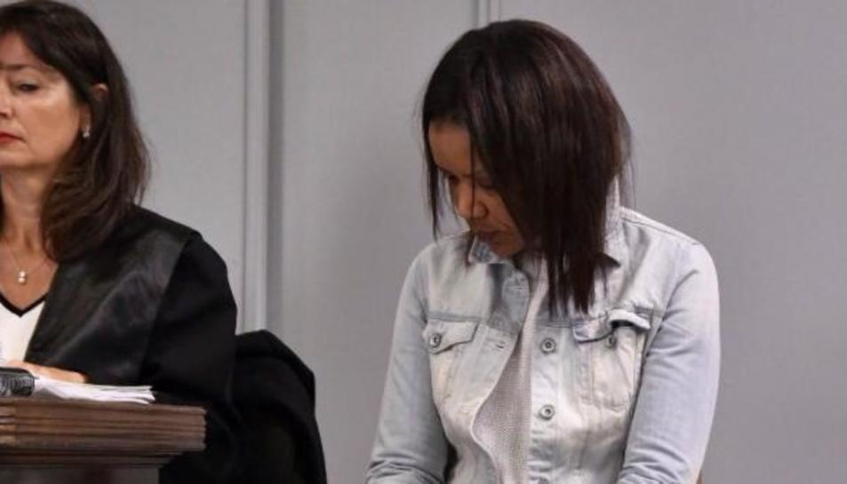 Ana Julia Quezada en la sisena sessió de procés que jutja la mort del petit Gabriel.