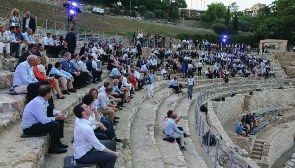 El simposi s'ha inaugurat aquest dilluns a l'Amfiteatre romà de Tarragona.