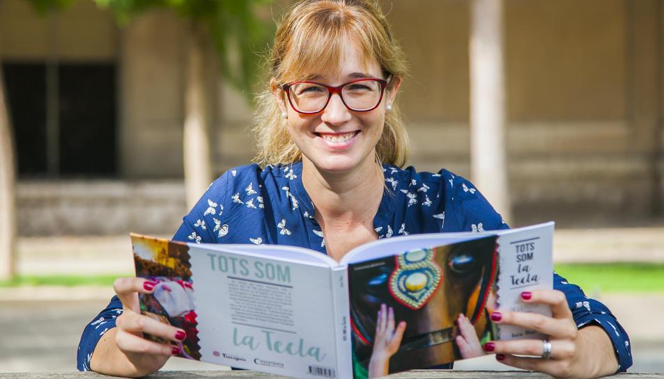 La periodista aquest dilluns a Tarragona amb el llibre, que ha estat editat per Cossetània edicions.