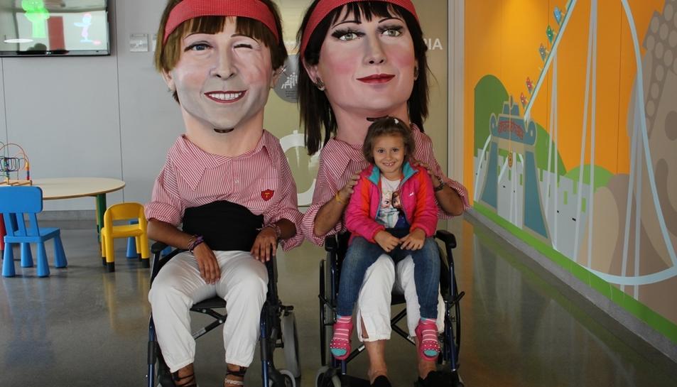 També han visitat als usuaris de l'Hospital Sociosanitari Francolí