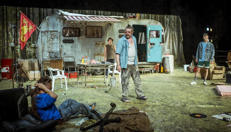 Imatge de 'Jerusalem', el muntatge transgressor dirigit per Julio Manrique.