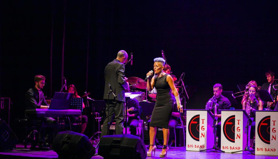 Imatge del concert celebrat ahir al Teatre Metropol.