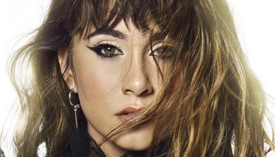 Imatge promocional del disc 'Spoiler' d'Aitana.