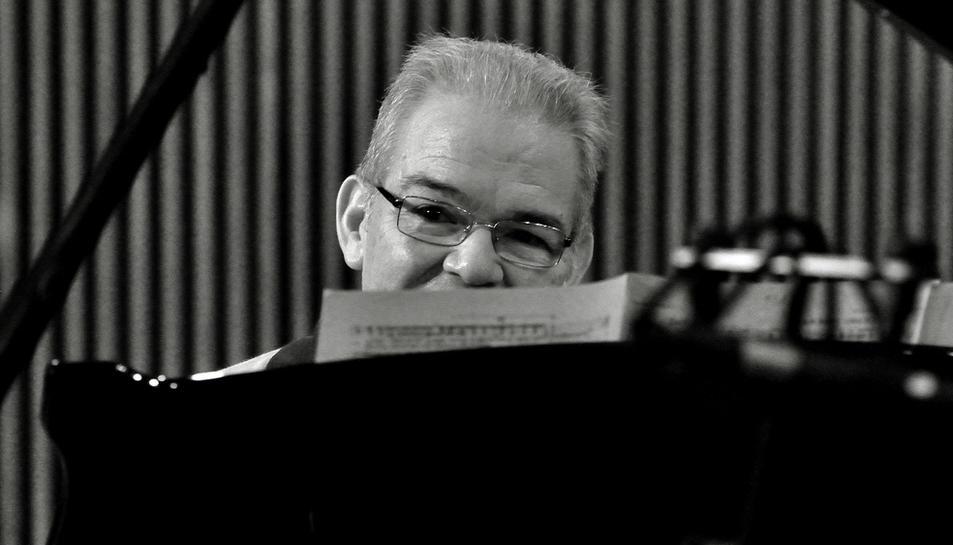 Imatge del pianista Cecilio Tieles.