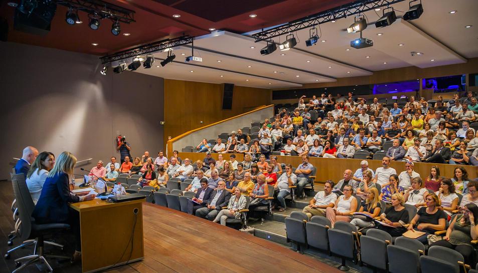 Representants d'ens institucionals locals van assistir a la presentació del PUOSC 2020-2024.