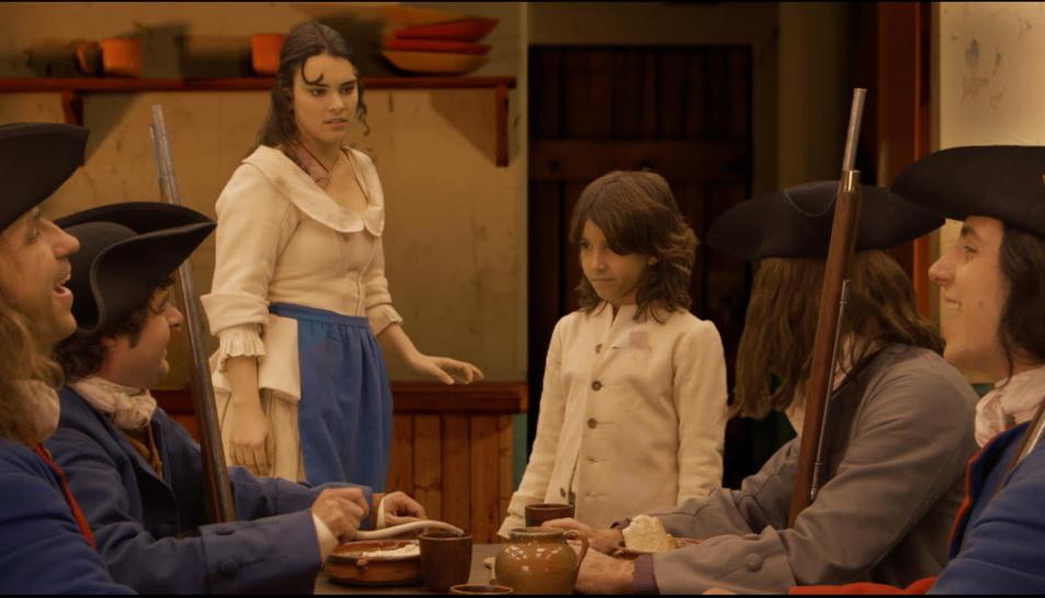 Una escena del film 'Barcelona 1714'.