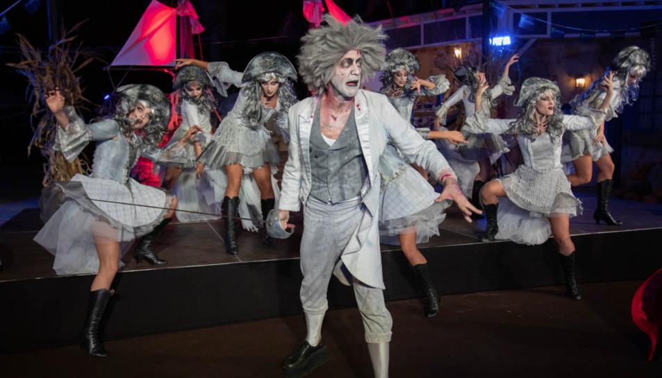Imatge de la presentació de la nova temporada de Halloween a PortAventura.