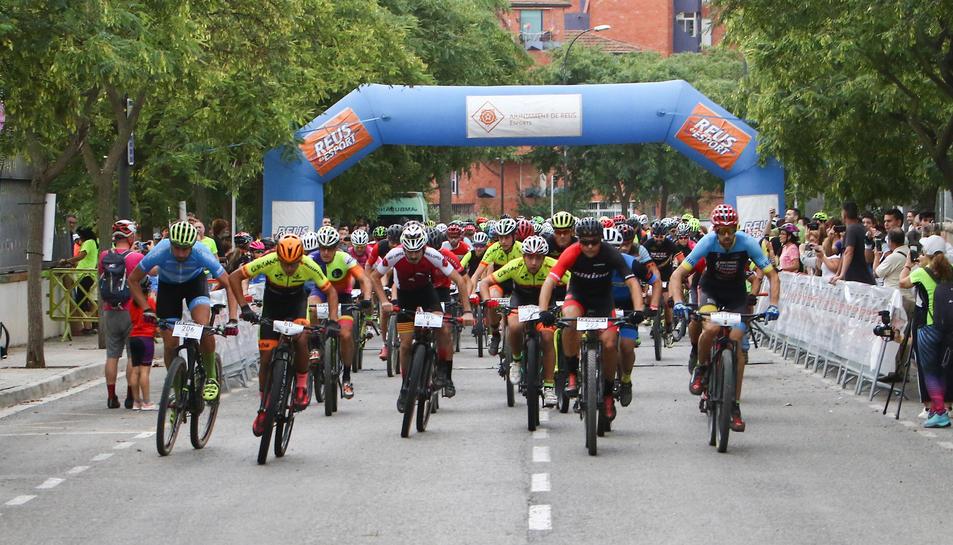 Las salidas y las llegadas de todas las categorías tuvieron lugar en el Polilleuger Ciutat de Reus.