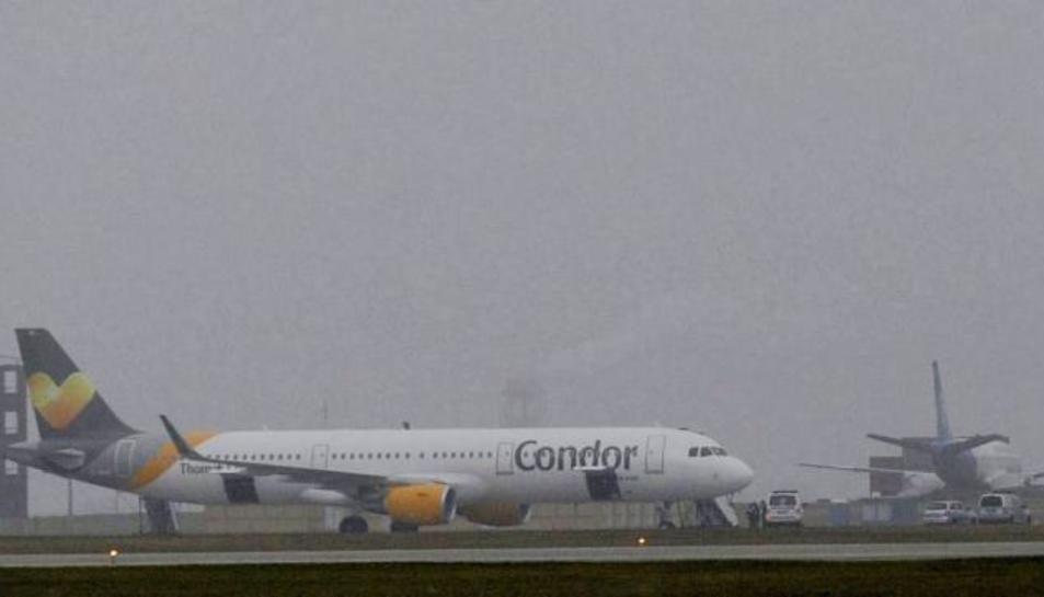 La companyia aèria alemanya transporta més de vuit milions de passatgers cada any.