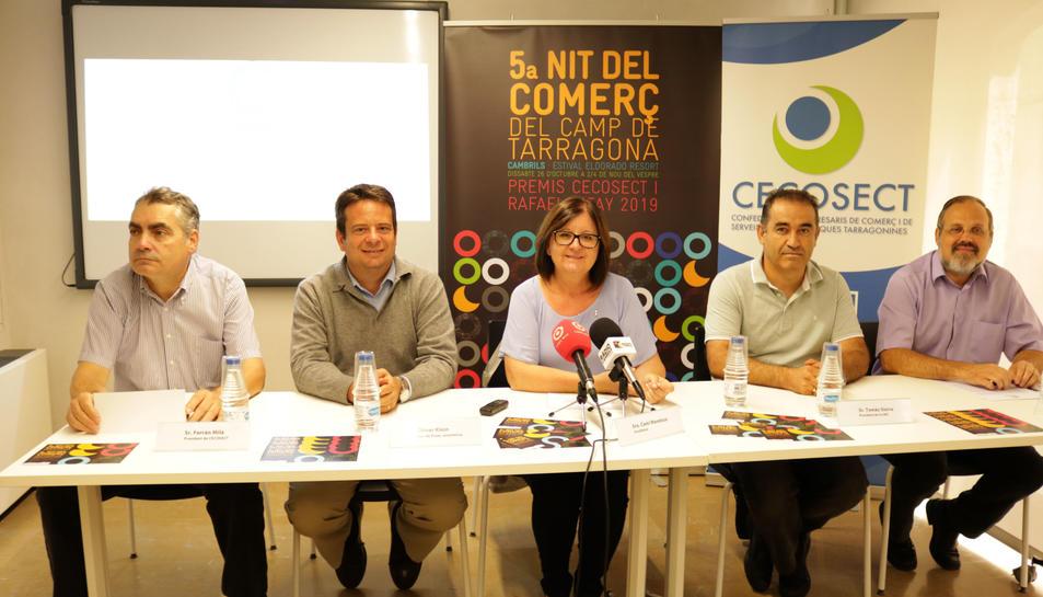 Presentació de la Nit del Comerç del Camp de Tarragona.