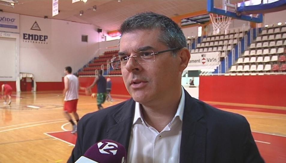 José Luis Vicente, durant una entrevista a 'TAC12'.
