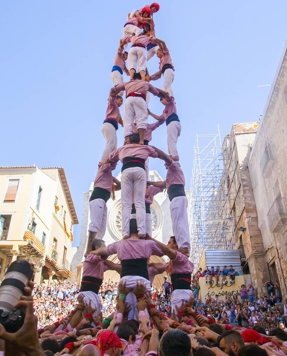 4 de 8 del Xiquets de Tarragona.