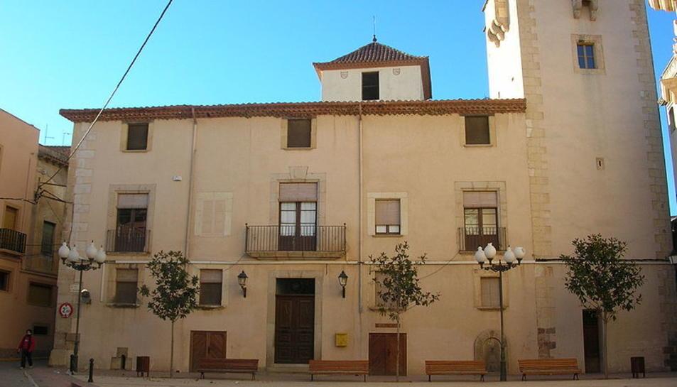Imatge de l'Ajuntament de Vinyols i els Arcs.