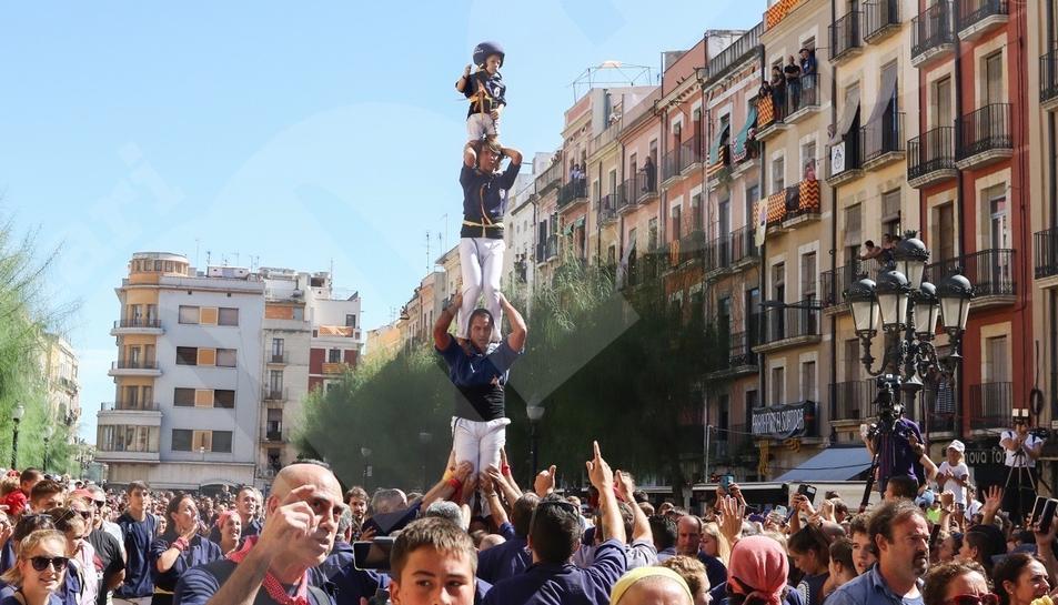Diada castellera Mercè i pilars caminant (IV)