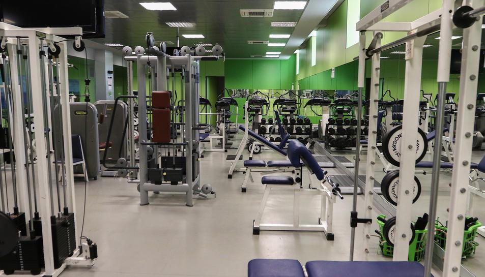 La nova sala complementarà els espais que l'equipament esportiu ja té destinat actualment a gimnàs.