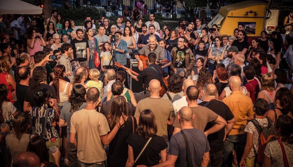 La Terrasseta ha ofert actuacions musicals per a tots els gustos.