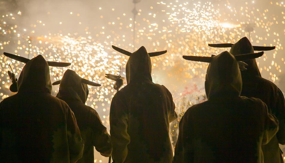 El correfoc de Santa Tecla 2019
