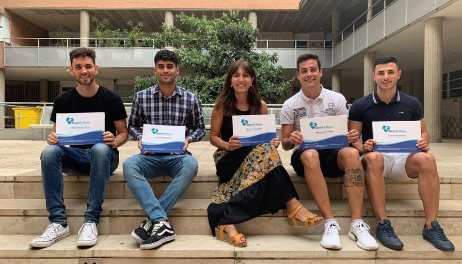 La responsable del grau, Nancy Babio, ha dirigit el treball de Hernando Margara, Alexandre Ávila, Steven de la Penya i David Moreno.