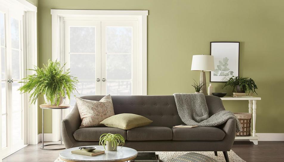 Back to Nature és el color presentat per la marca Behr per l'any 2020.