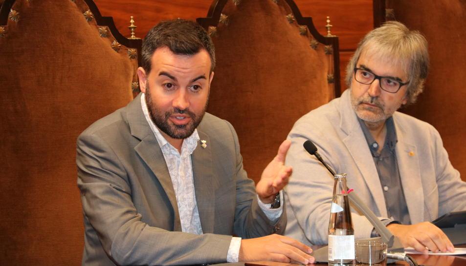 Pla mitjà de Lluís Soler, alcalde de Deltebre i fins ara vicepresident 2n a la Diputació de Tarragona.