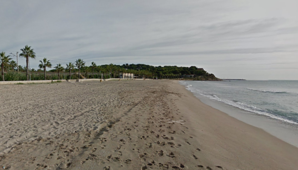 Imatge de la platja Llarga de Roda de Berà.