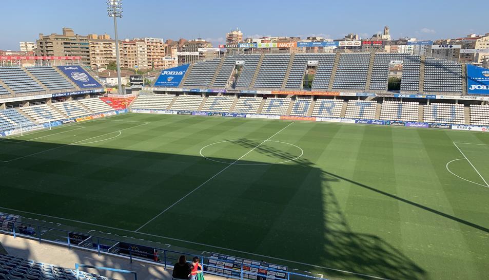 El Camp d'Esports de Lleida.