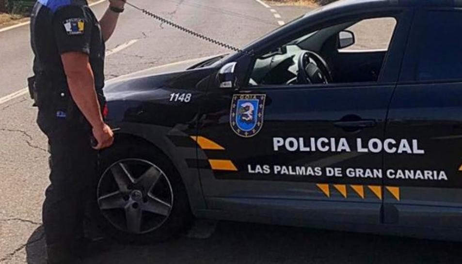 Agent de la Policia Local de Las Palmas de Gran Canaria.