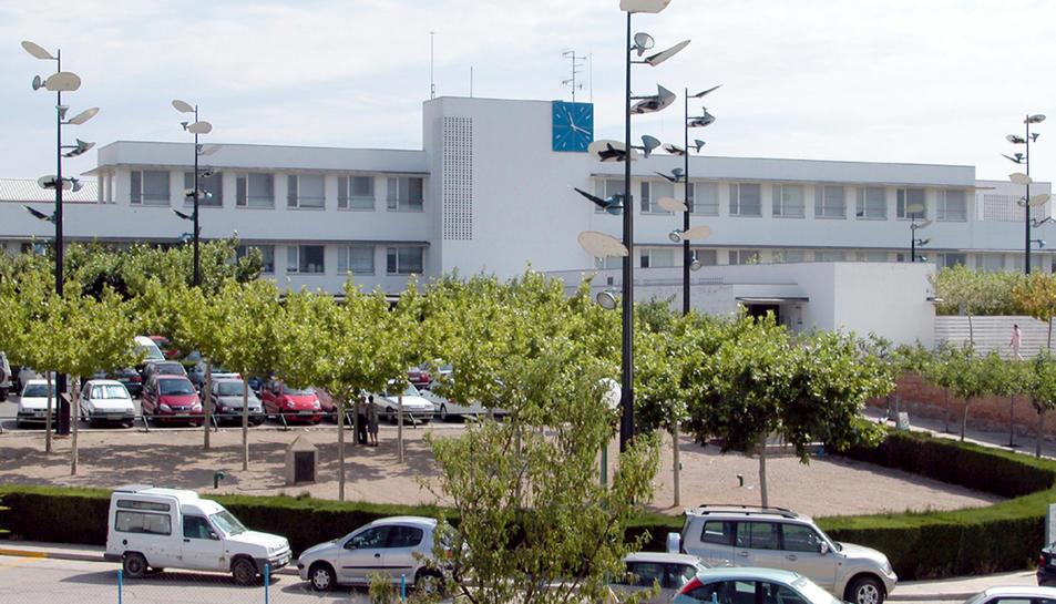 Una imatge d'arxiu de la façana de l'Hospital de Móra.