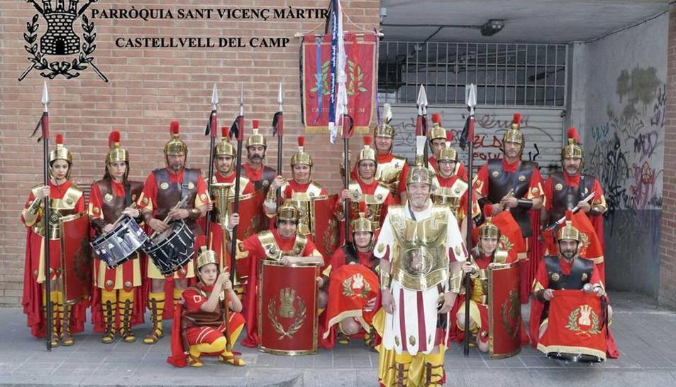 Els actuals integrants dels Armats de Castellvell.