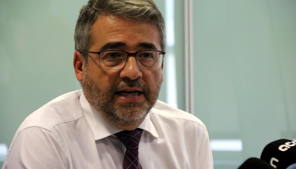 El director general dels Mossos, Andreu Joan Martínez