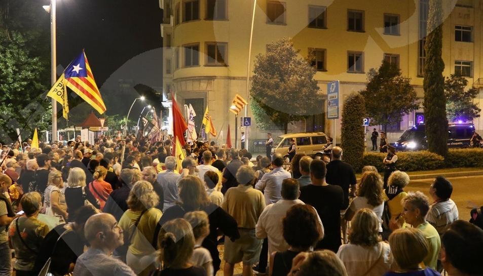 Manifestació per l'1-O a Reus