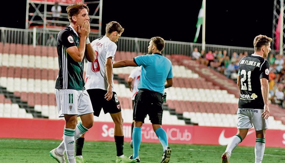 El Córdoba va caure derrotat contra el Sevilla Atlético a camp contrari aquest passat cap de setmana.