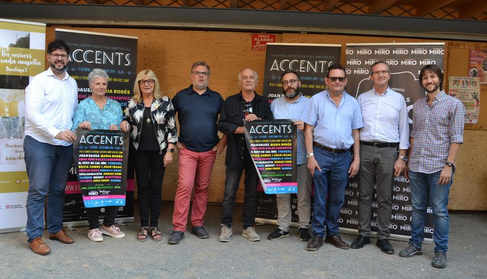 Presentació del Festival Accents.