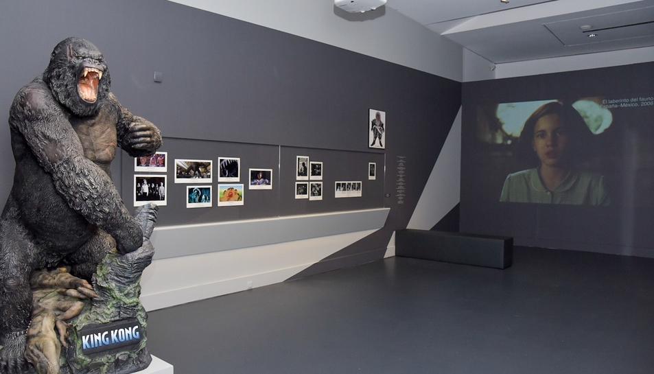 Imatge de la mostra sobre cinema a Tarragona.