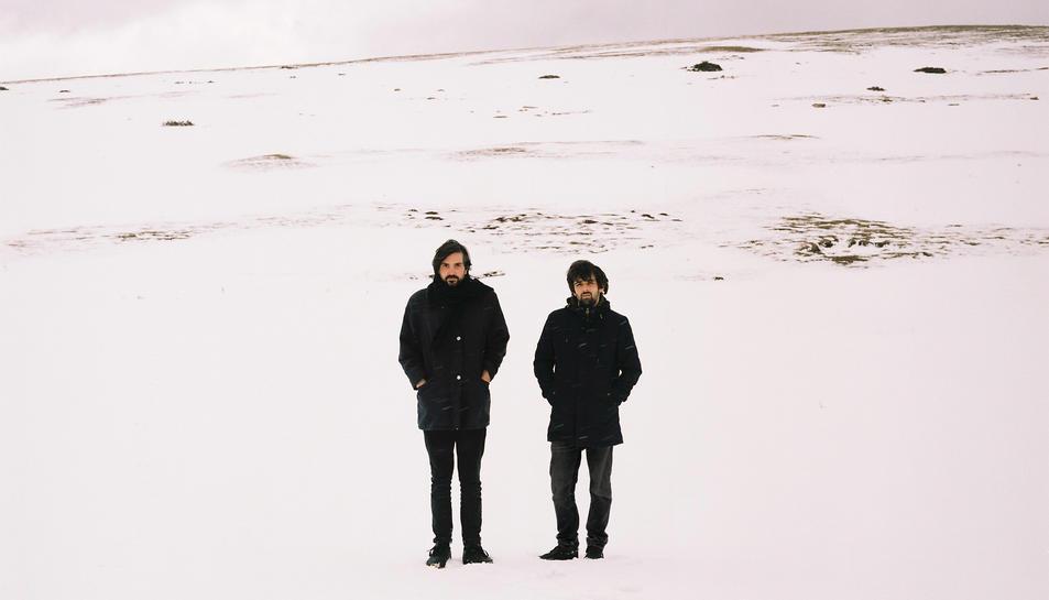 El duet Germà Aire fa 'pop metafísic'.