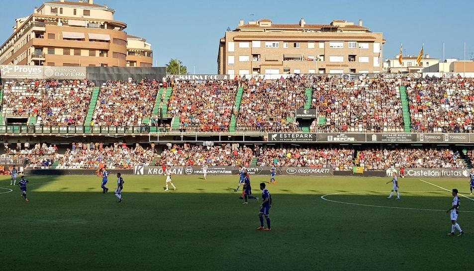 Castàlia està gaudint aquesta temporada de grans entrades i, molts d'aquests aficionats, assistiran diumenge al Nou Estadi.