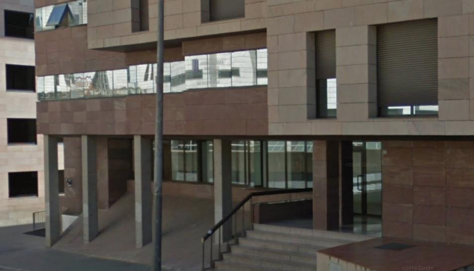 Imatge del jutjat d'instrucció 4 de Lleida que porta el cas.